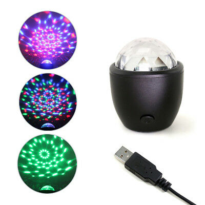 USB RGB Color LED Ball Laser Projector Stage Light KTV DIsco DJ Party Bar Lamp
