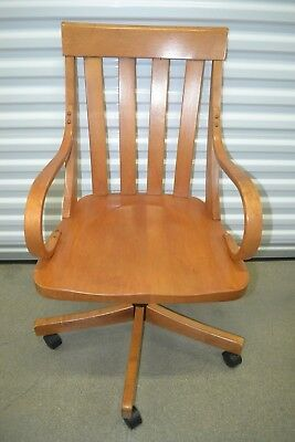 Prime Ethan Allen Country Colors Desk Chair Maple Office 14 9406 Uwap Interior Chair Design Uwaporg