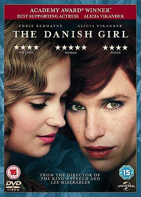 The Danish Girl [2015] (DVD) Eddie Redmayne, Alicia Vikander, Amber Heard