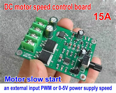 DC5-18V 15A Motor Speed Controller PWM Module Stepper Speed Control Board