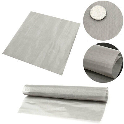 100 Mesh Wire Stainless Steel Cloth Screen Water Filtration Filter Sheet 30cm