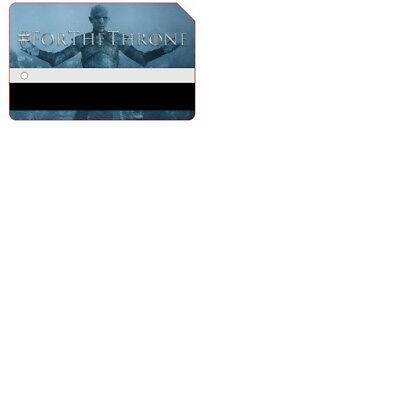 Game Of Thrones MTA Metro Card MetroCard NYC Limited Edition White Walker
