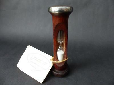 Antique Wood Bobbin Egg Timer - 100 yr Old + - ColdHarbour Mill Somerset