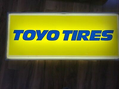 Toyo Tires Lighted Sign- Gas Station- Double Sided