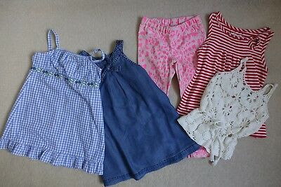 Girls Bulk Lot Clothing x 5 pieces Age 2 to 3 Zara Seed Fred Bare Gumboots