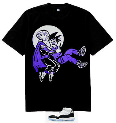 1a7fd7a9f6078e xi Purple BLK Stone Goku Stunner shirt to match air Jordan 11 Retro Concord  2018