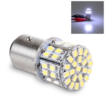 Lampadina 12V LED Light 1157 BAY15D 50SMD 1206 6000K Coda freno stop per auto IT