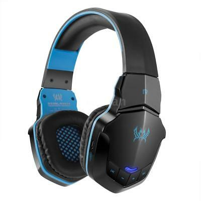 KOTION EACH Gaming Headset Wireless Bluetooth Over-Ear Stereo Kopfhörer Mic Y4D0