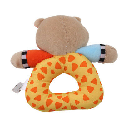 Soft Plush Toy Rattle Multi-shape Stroller Bell Plush Toy Educational Supplies L