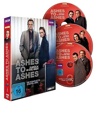 Ashes To Ashes Season 3 - Complete Series 3 Brand New Sealed Uk Region 2 Dvd