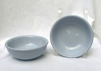 Buffalo China Blue Lune Cereal Oatmeal Bowls Restaurant Diner
