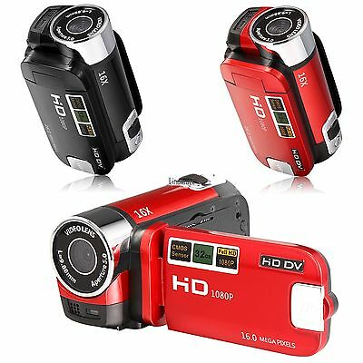 16MP FHD 1080P Digital Video Camcorder Camera DV DVR 2.7'' LCD 16X Digital Zoom