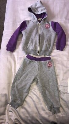 3e2544f78897 baby girls Converse tracksuit-size 18 24 months-excellent condition!