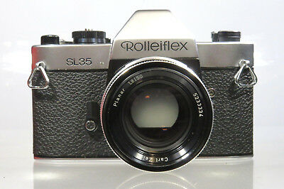 ROLLEIFLEX SL35 CARL ZEISS PLANAR 1,8/50mm MADE IN GERMANY 0-SERIE