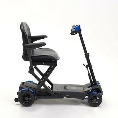 Auto Folding Remote Control 4 Wheel Lightweight Portable Mobility Boot Scooter