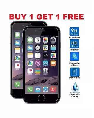 For Apple iPhone 6 Plus 6/s Plus Tempered Glass Screen Protector - BRAND NEW!!