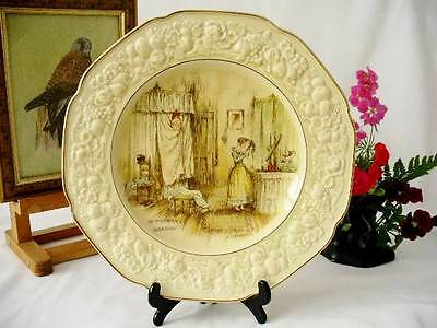 1930's  - Crown Ducal -  Cabinet Plate - Florentine - Mr Pickwicks Quandry -