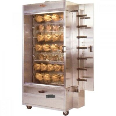 Old Hickory N7G 35 Chicken Gas Commercial Rotisserie Oven Machine