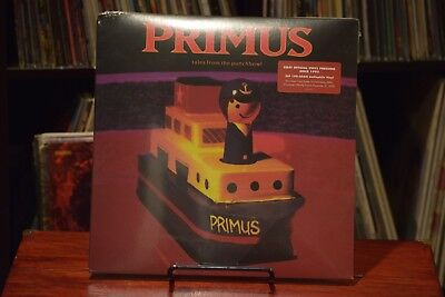 Primus- Tales from the Punchbowl RARE Limited Vinyl LP Colored Wax xx/1000