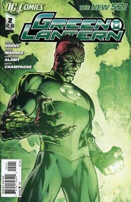 Green Lantern #2 (Vol 5) New 52 Variant Cover by David Finch