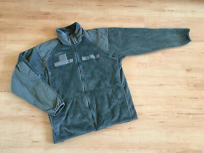 Original US Polartec Jacket Weigth Fleece XLarge-Long Army Foliage Green