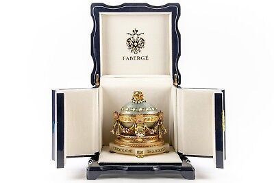 Imperial Collection Of Faberge Cradle Egg