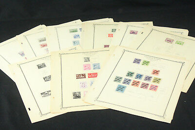 Czechoslovakia CLEAN BOB+ Stamps on Scott Int'l Album Pages+ 1919-1958 Mint/Used