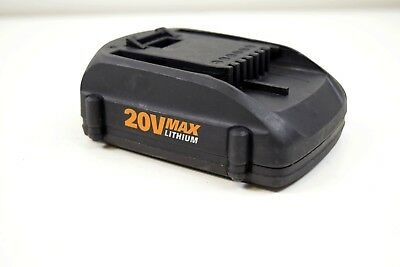 GENUINE  WORX 20V Max 2.0Ah Lithium Ion Battery WA3525