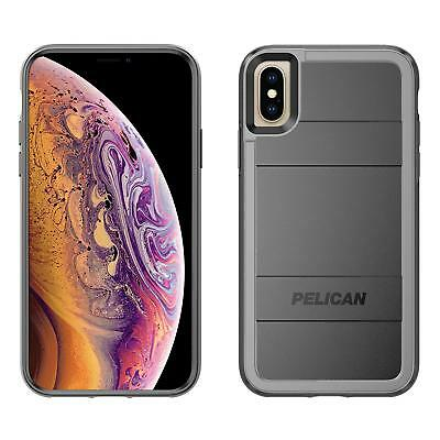 Pelican Protector +AMS Rugged Case for iPhone X/Xs - Black/Light Gray