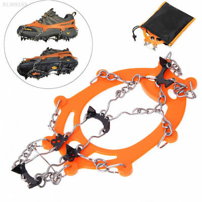 67A7 24 Teeth Shoe Covers Ice Crampons Crampons Antiskid Black Spike Climbing & Caving Equipment