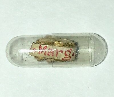 † MOTHER MARGUERITE BOURGEOYS ~ THECA CAPSULE with 1st Class RELIC †