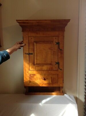 Tiger Maple Hanging Cupboard