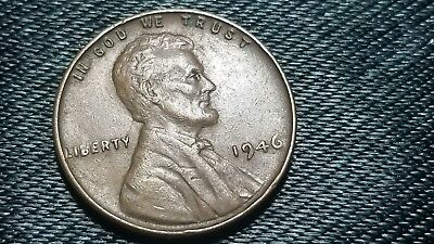 1946 P Lincoln Wheat Penny