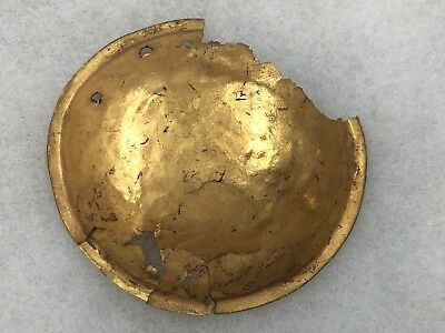 Killer Rare Authentic Pre Columbian Mayan Gold Gorget Pendant