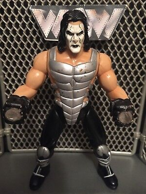 wwe wcw sting wrestling figure grip n flip marvel toy flashback nwo