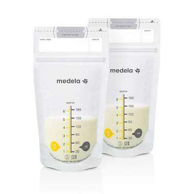 Medela Breast Milk Storage Bags 25 White pump and save bags