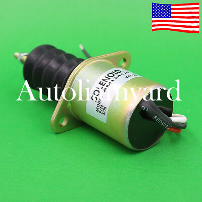 Sincere Solenoid Relay Fuel Shutdown Shut Off Solenoid For Yanmar 119233-77932 John Deere Tractor Atv,rv,boat & Other Vehicle