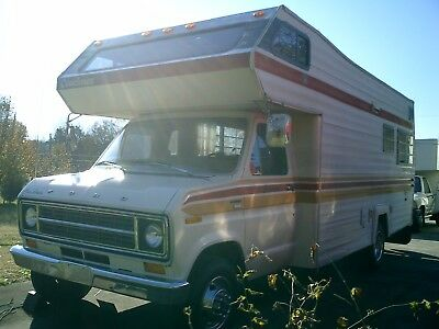 VINTAGE 1977 Ford Coachman Motor home