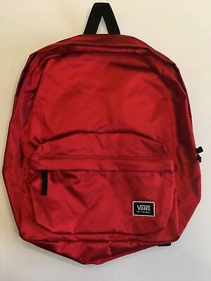 6373cef53d VANS New Deana III Festive Red Backpack OSFA