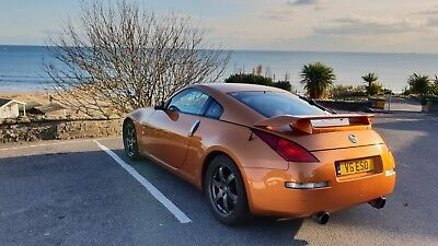 Nissan 350z. Well looked after, sunset orange, JDM, Brembo brakes. 84k miles.
