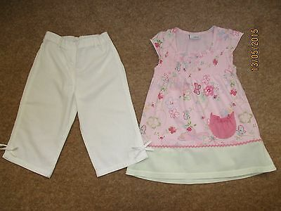 Girls NEXT Outfit Trousers / Top Age 2-3 Years