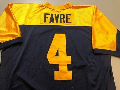 new style d0895 6e7ee AUTHENTIC BRETT FAVRE Mitchell & Ness Packers Throwback Jersey 56