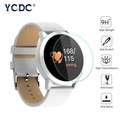 9H Tempered Glass Screen Protector Smart Watch Protective Slim Film Dia. 28mm C