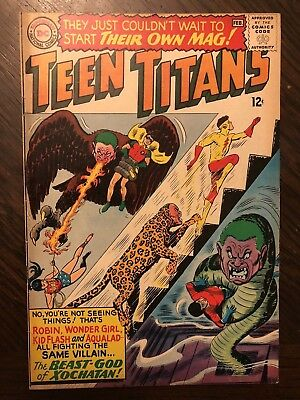 TEEN TITANS #1 (Jan-Feb 1966, DC) VF + CONDITION!