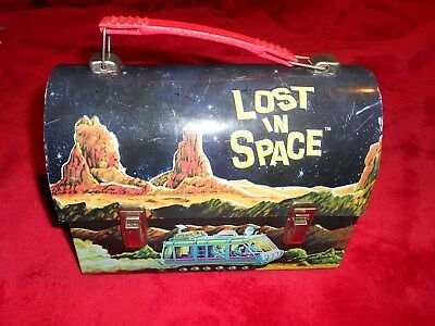 Lost In Space Tv Series Reproduction Dome Top Lunch BoxGood Condition