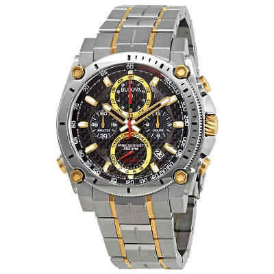 Bulova Precisionist Chronograph Black Dial Men's Watch 98B228