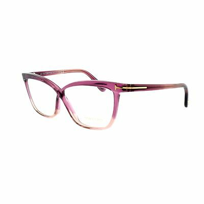 15f4e489b4 Tom Ford FT5267 071 Full Rim Burgundy Butterfly Women Optical Frames  Eyeglasses