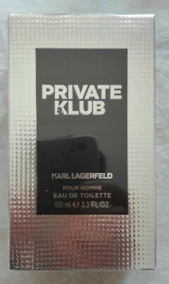 Karl Lagerfeld Private Klub Pour Homme 100 ml