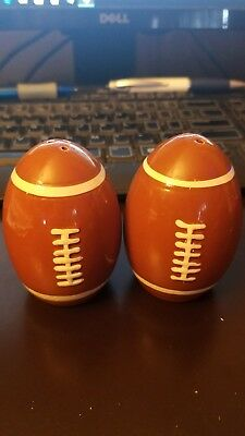 Vintage Football Salt and Pepper Shakers
