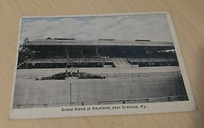 1920's The Grand Stand at Raceland near Greenup, KY Kentucky PC